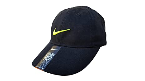 92e96370edb86 ... order nike toddler just do it sports hat adjustable sun cap black w  signature volt 69cb5
