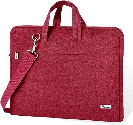 Voova Laptop Bag 17 17.3 inch Water-Resistant Laptop Sleeve Case with Shoulde...