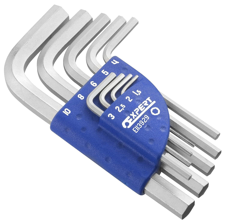 9-Piece Expert E113929 Metric Hex Key Set