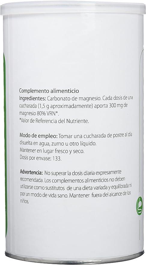 H4U Carbonato de Magnesio - 200 gr: Amazon.es: Salud y cuidado personal