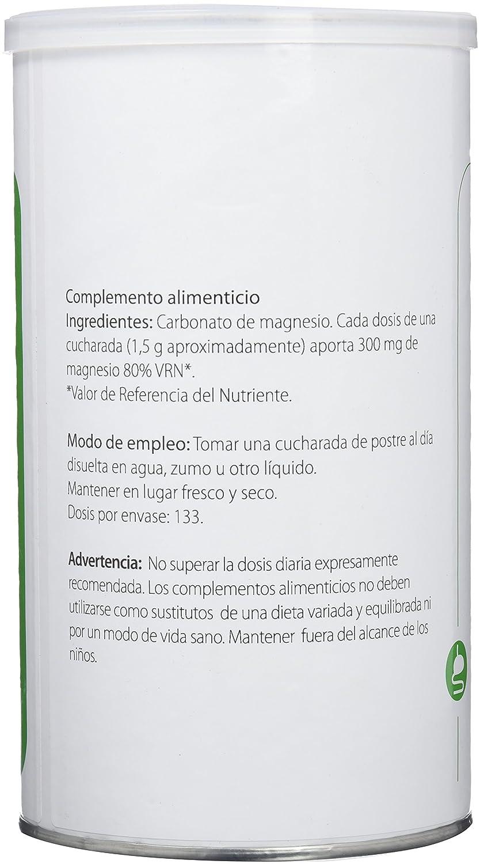 Cantidad diaria recomendada de carbonato de magnesio
