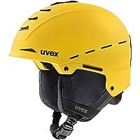 uvex Legend Pro skihelm, uniseks, zwart-rood mat, 59-62 cm