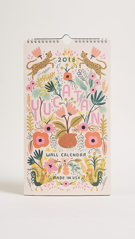 Rifle papel Co de la mujer 2018 calendario de Yucatán ...