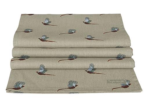 Sophie Allport Table Runner - Pheasant design