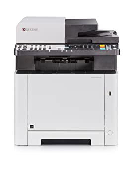 Kyocera Ecosys M5521cdw WiFi All-in-one Colour Laser Multifunction Printer,  Scanner, Copy & Fax  Mobile Print Support  Amazon Dash Replenishment