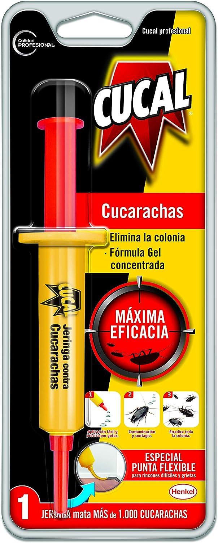 Cucal Jeringa contra cucarachas: Amazon.es: Salud y cuidado ...
