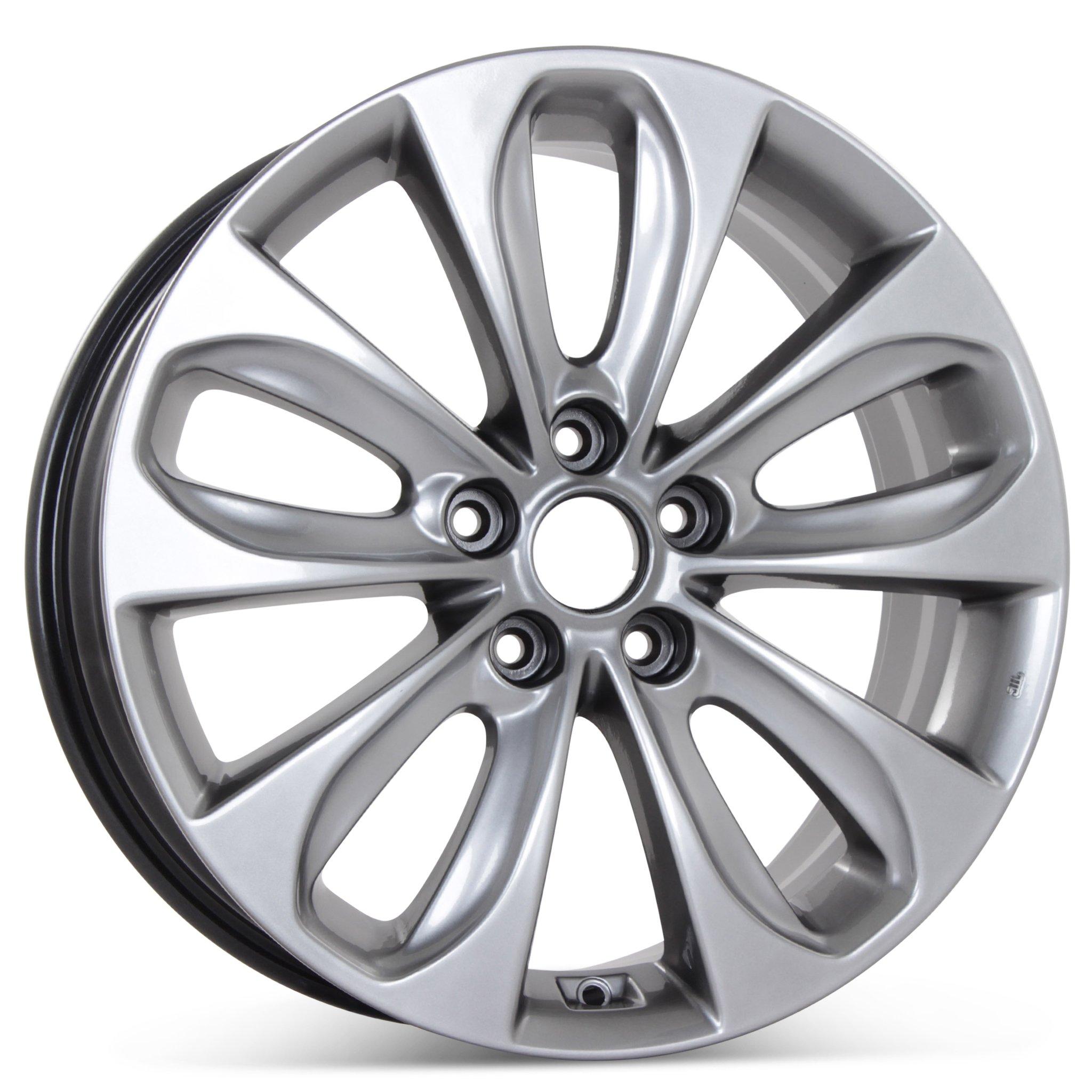 New 18'' x 7.5'' Alloy Replacement Wheel for Hyundai Sonata 2011 2012 2013 Rim 70804