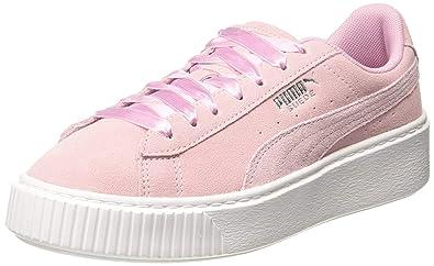 PUMA Women's Platform Galaxy WN's Low Top Sneakers: Amazon