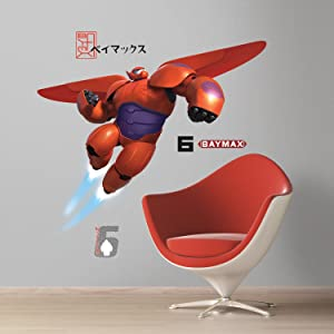 RoomMates Big Hero 6 Baymax Peel And Stick Giant Wall Decals