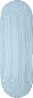 product image for Spring Meadow Rug, 2 by 12-Feet, Sky Blue