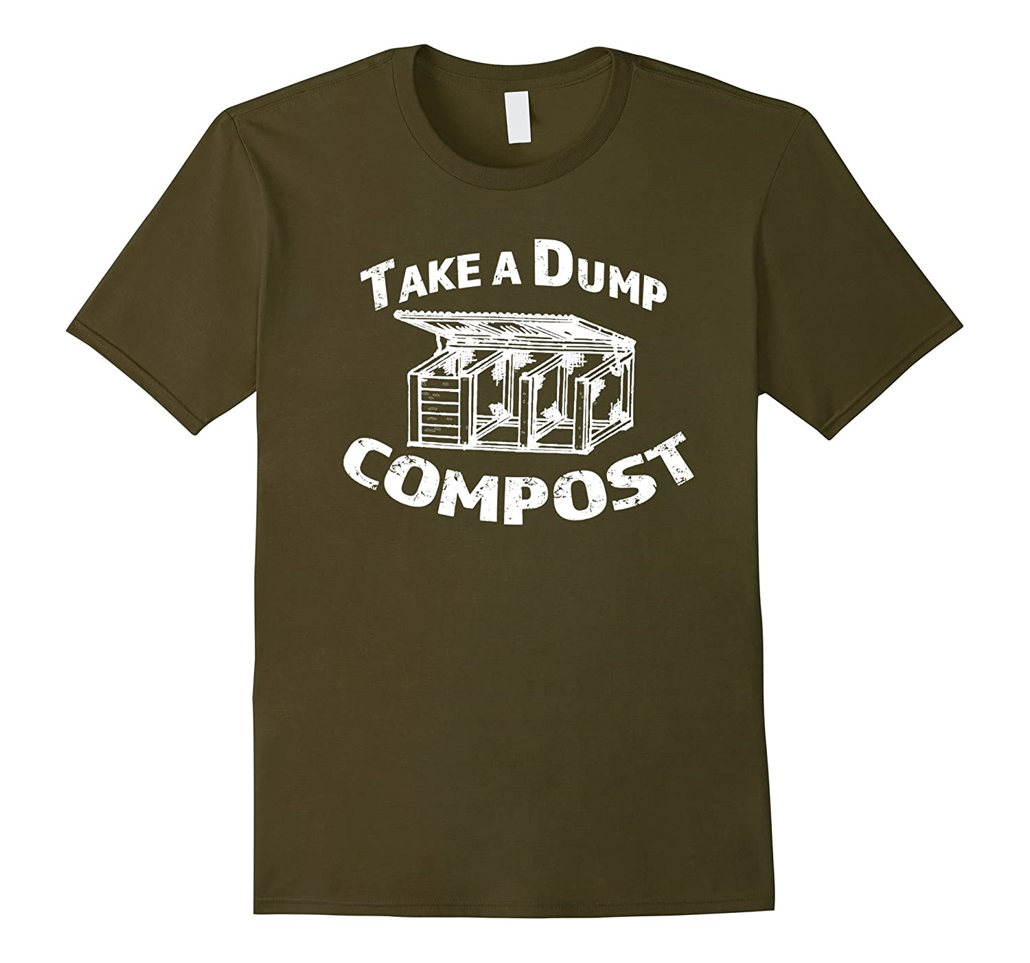 Compost Hero Take A Dump Organic Garden Love Funny Shirt-TD – theteejob