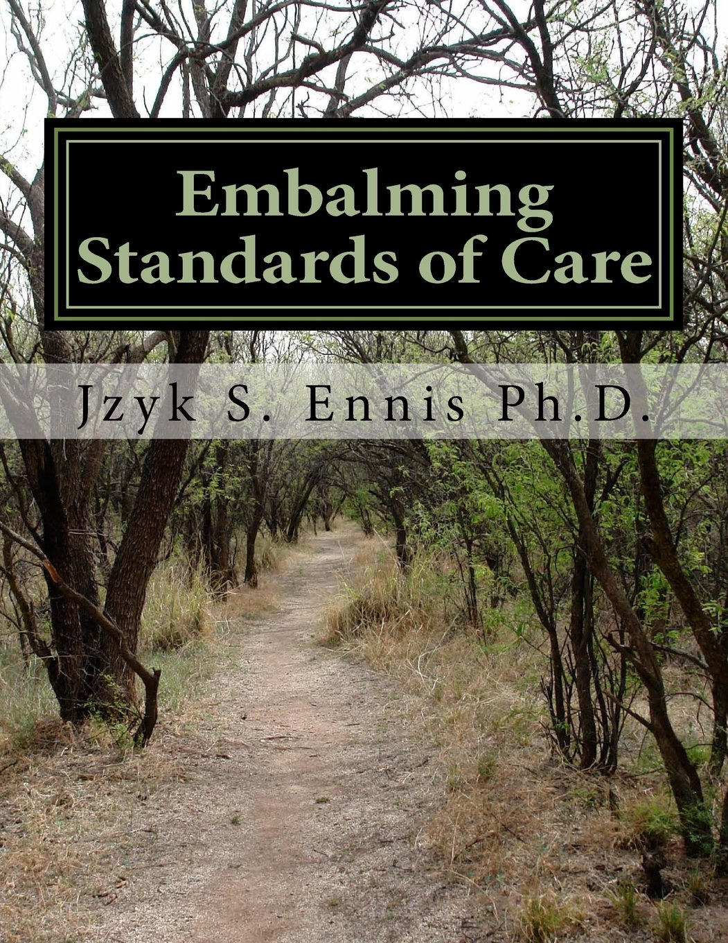 Embalming Standards of Care: Jzyk S  Ennis Ph D