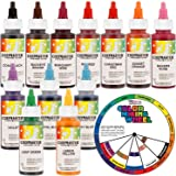 Amazon.com: Chefmaster Food Coloring Kit: Ten 1-Ounce Colors ...