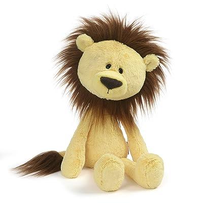 "GUND Toothpick Zane Lion Plush Stuffed Animal, Yellow, 16"": Toys & Games"