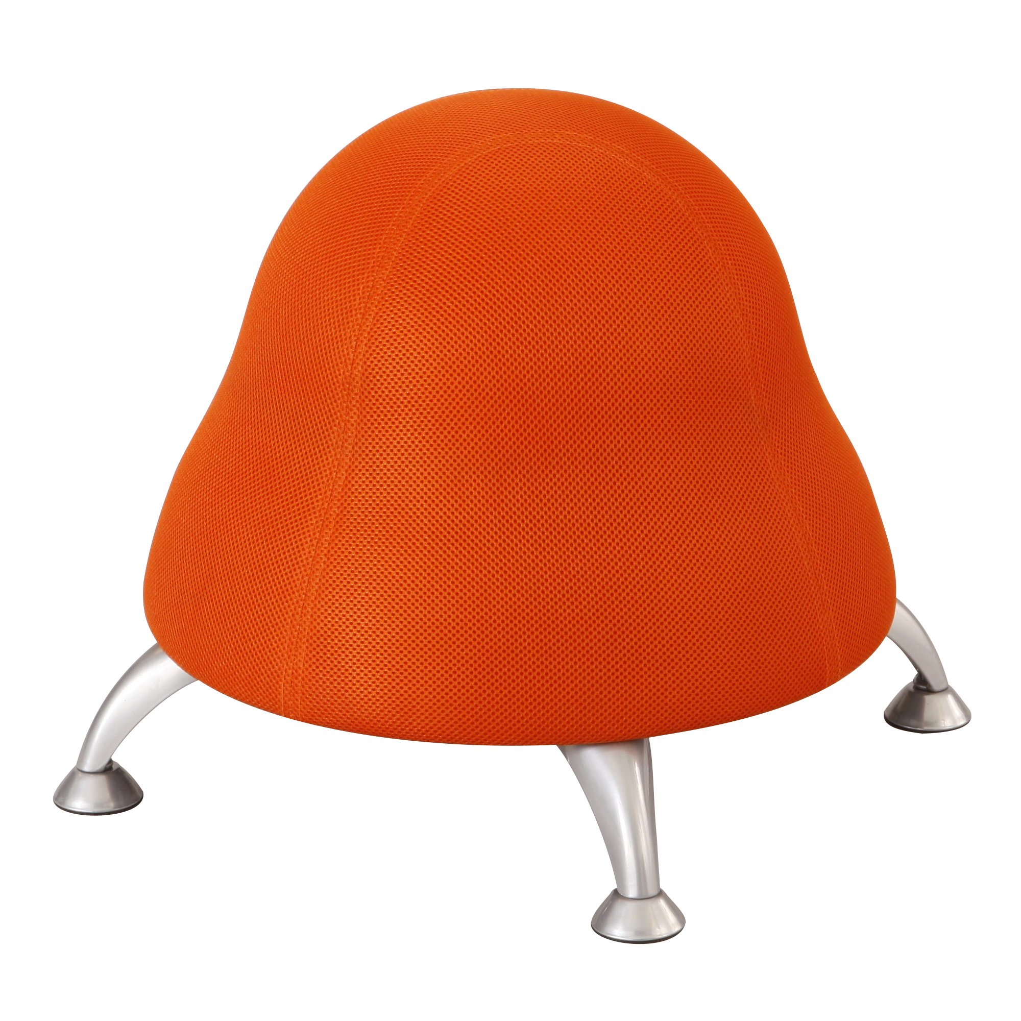 Safco Products 4755OR Polyester Mesh Runtz Ball Chair, Orange