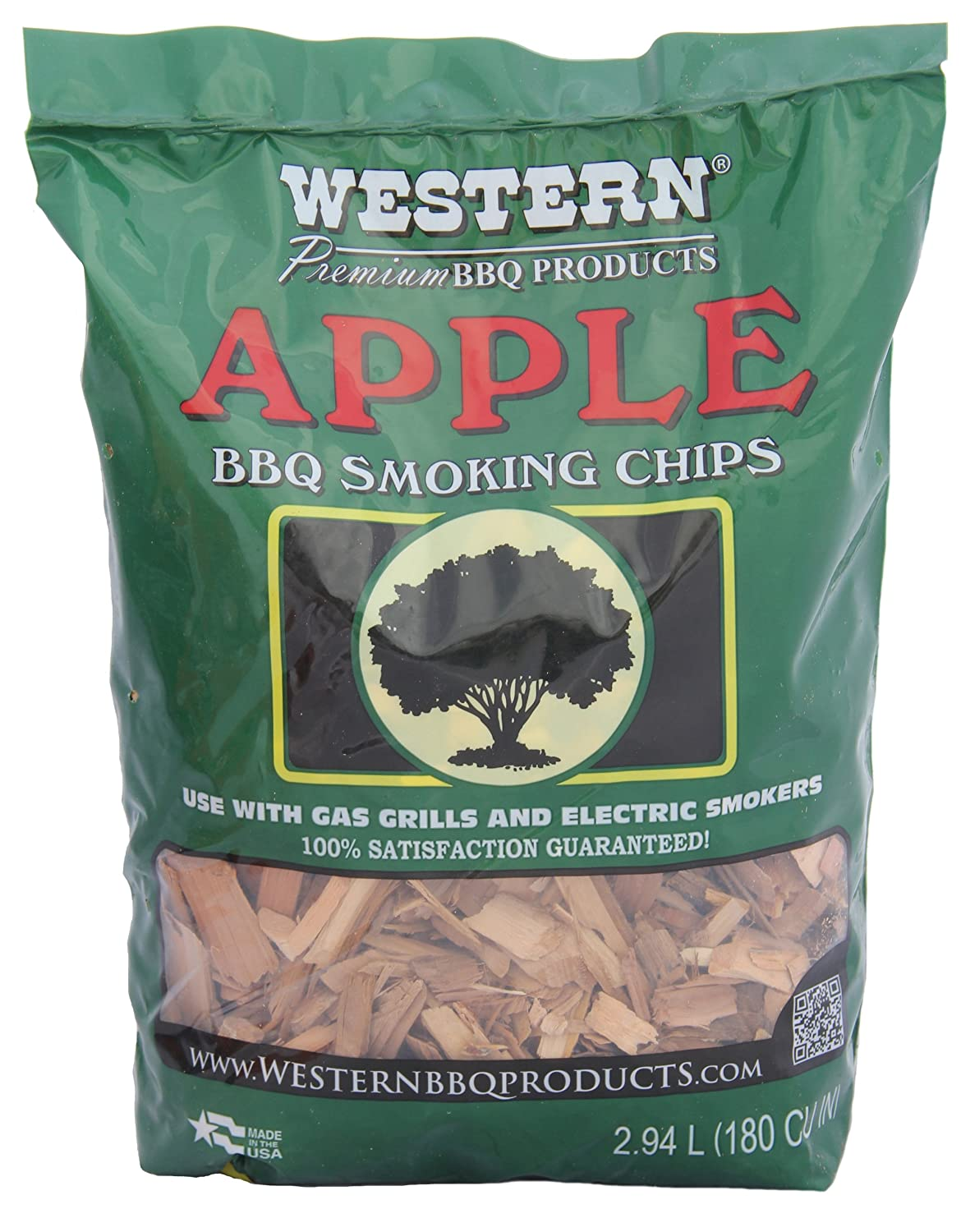 Western apple bbq smoking chips wood smoker grilling