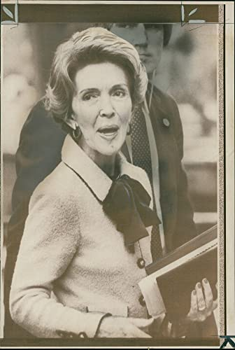 Amazon com: Vintage photo of Mrs nancy reagan arriving at