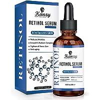 Kanzy Retinol Serum voor gezicht 2.5% active ingrediënt vegan hyaluronzuur, vitamine A, E. organische aloë vera anti…