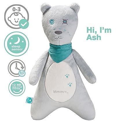 myHummy Ash White Noise Teddy Bear