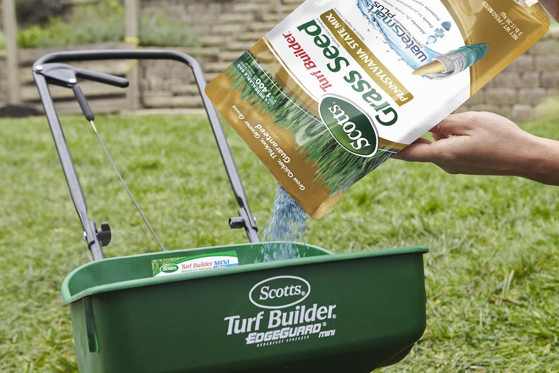 Scotts Turf Builder Grass Seed - Pennsylvania State Mix, 3-Pound  (Not Sold in CA, LA)
