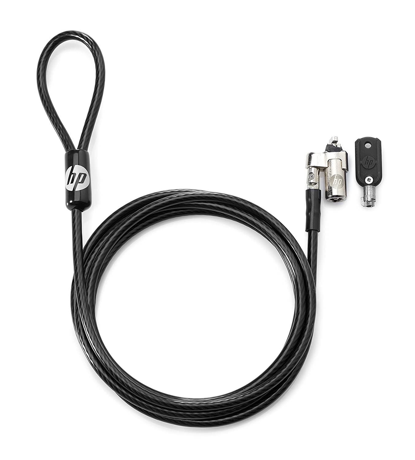 HP Bloqueo de Cable con Llave de 10 mm - Cable antirrobo (Llave ...