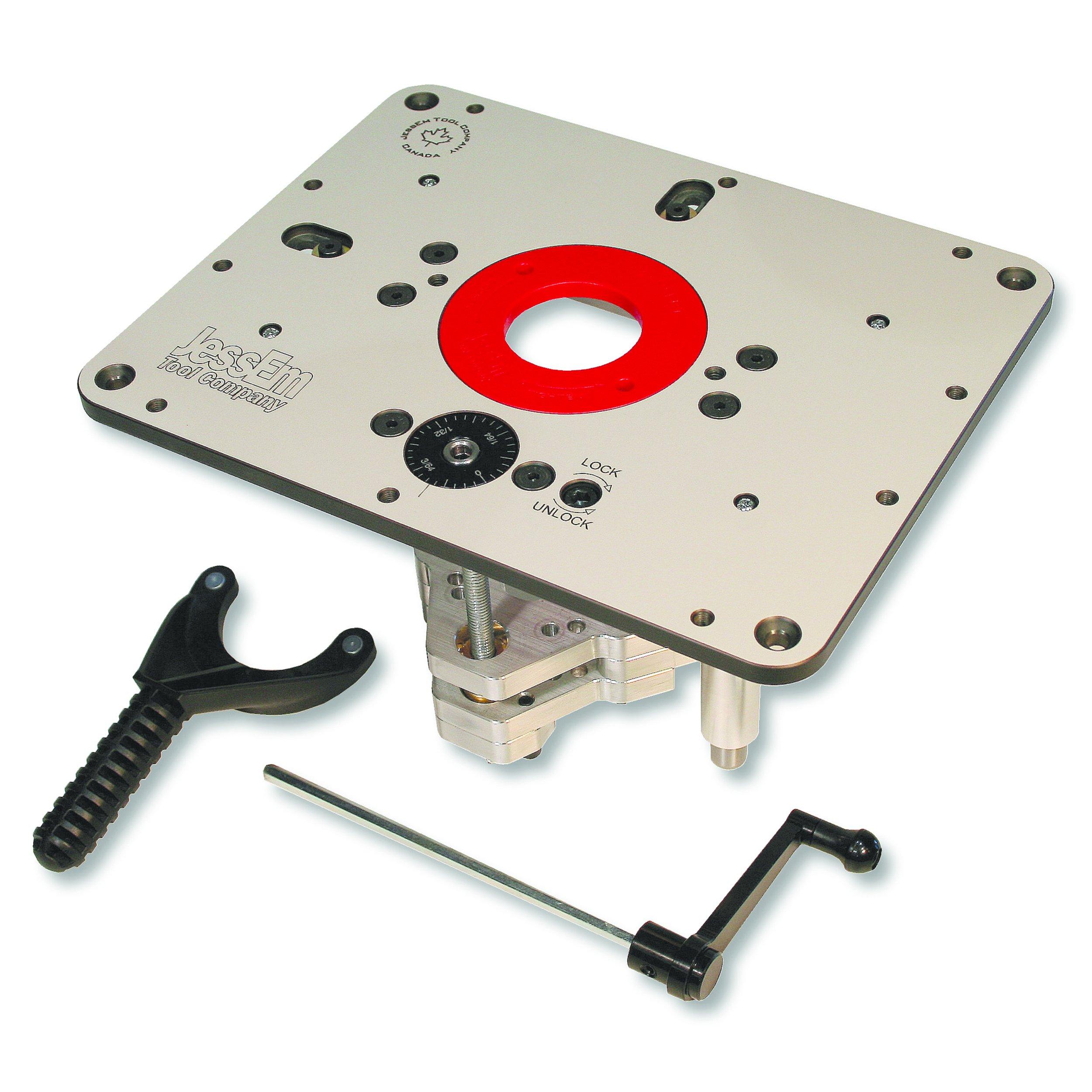 JessEm Rout-R-Lift II Router Lift For 3-1/2'' Diameter Motors, JessEm# 02310