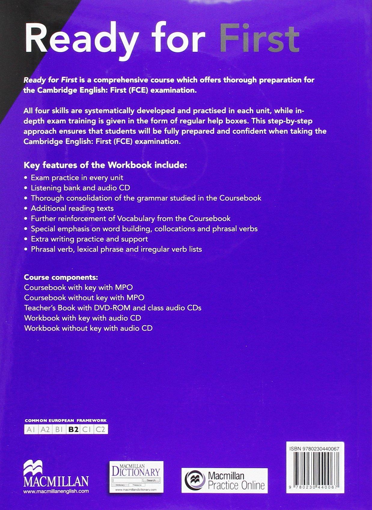 READY FOR FC Wb -Key Pk 3rd Ed (Ready for 3rd Edit): Amazon.es ...