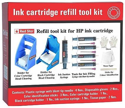 Red Star - Cartucho de Tinta Compatible con HP 301 Negro y ...