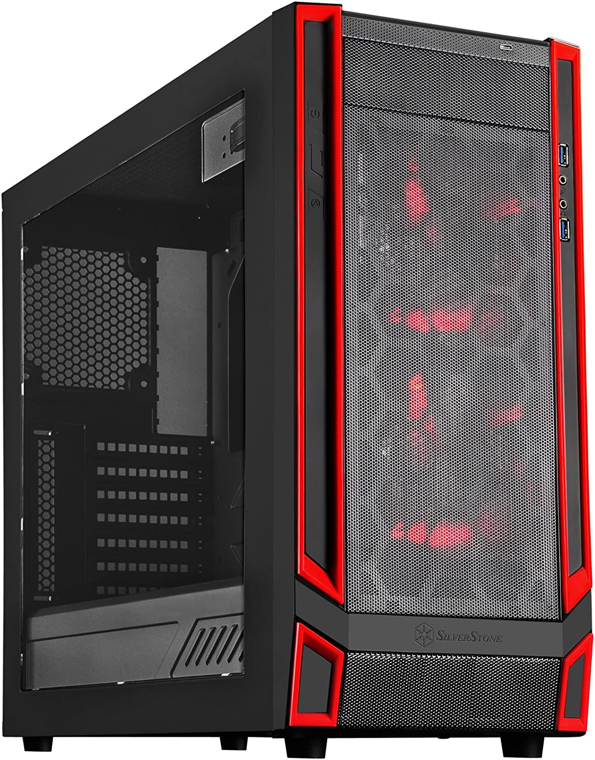 SilverStone Technology RL05BR-W Airflow pc case