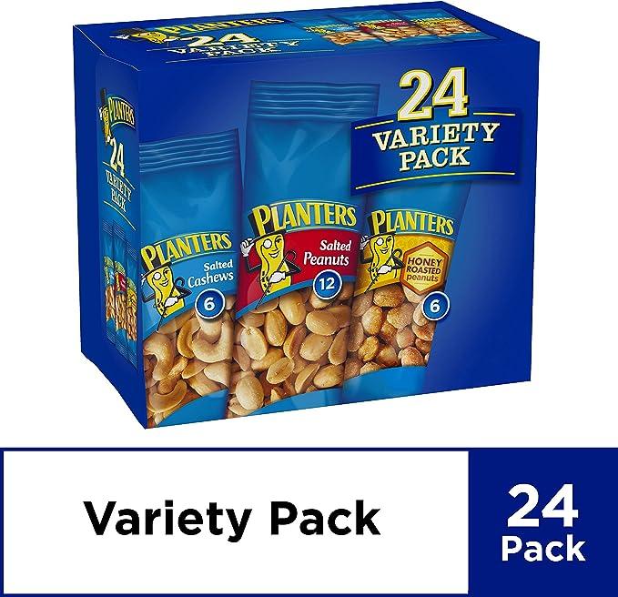 Planters Nut 24 Count-Variety Pack, 2 Lb 8.5 Ounce: Amazon.es: Alimentación y bebidas