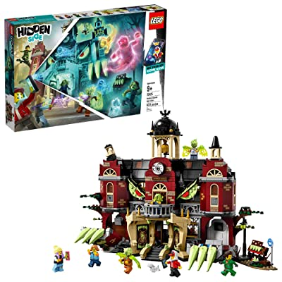 LEGO Hidden Side Newbury Haunted High School 70425 Building Kit, School Playset for 9+ Year Old Boys and Girls, Interactive Augmented Reality Playset (1,474 Pieces): Toys & Games