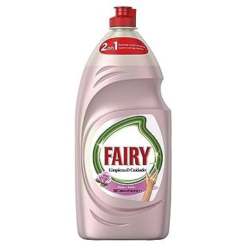 Fairy Limpieza y Cuidado Líquido Lavavajillas de Rosa y Satén - 4 Paquetes de 1015 ml - Total: 4060 ml