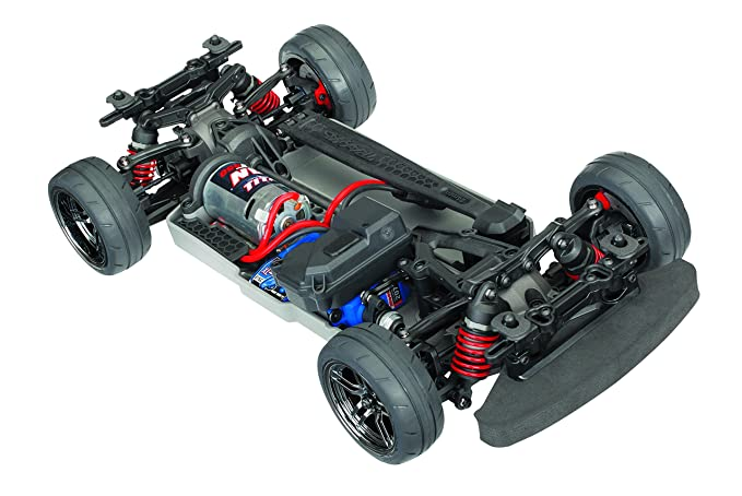 Awd Electric Car >> Traxxas Automobile Electric Awd Remote Control 4 Tec 2 0 Race Car Chassis With Tq 2 4ghz Radio Size 1 10