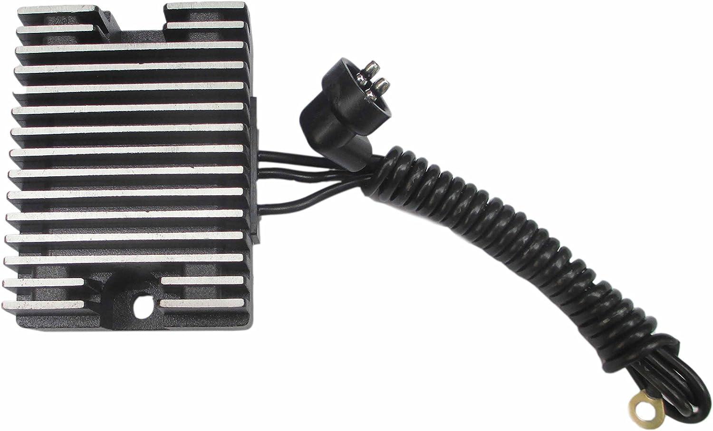 Voltage Regulator Rectifier for Harley EVO 89-99 1340 Replace 74519-88 Aluminum