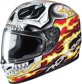 HJC Helmets Unisex-Adult Full-Face-Helmet-Style Ghost Rider Motorcycle Helmet