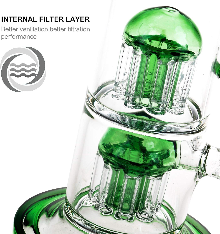Dobene 18.8mm Glass Water Bottle