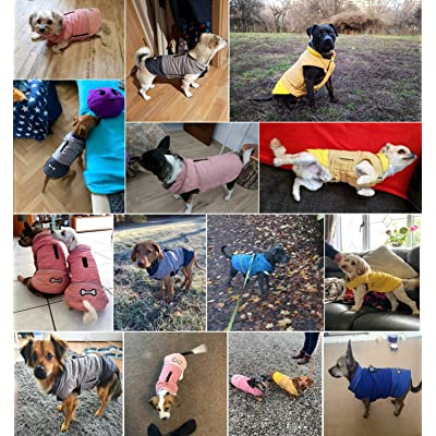 XXXL, Black Kismaple Dog Coat with Harness Hole Waterproof Dog Jacket for Winter Cold Weather Reflective Dog Coat Winter Comfortable Apparel for Small Medium Large Dogs Winter Clothes