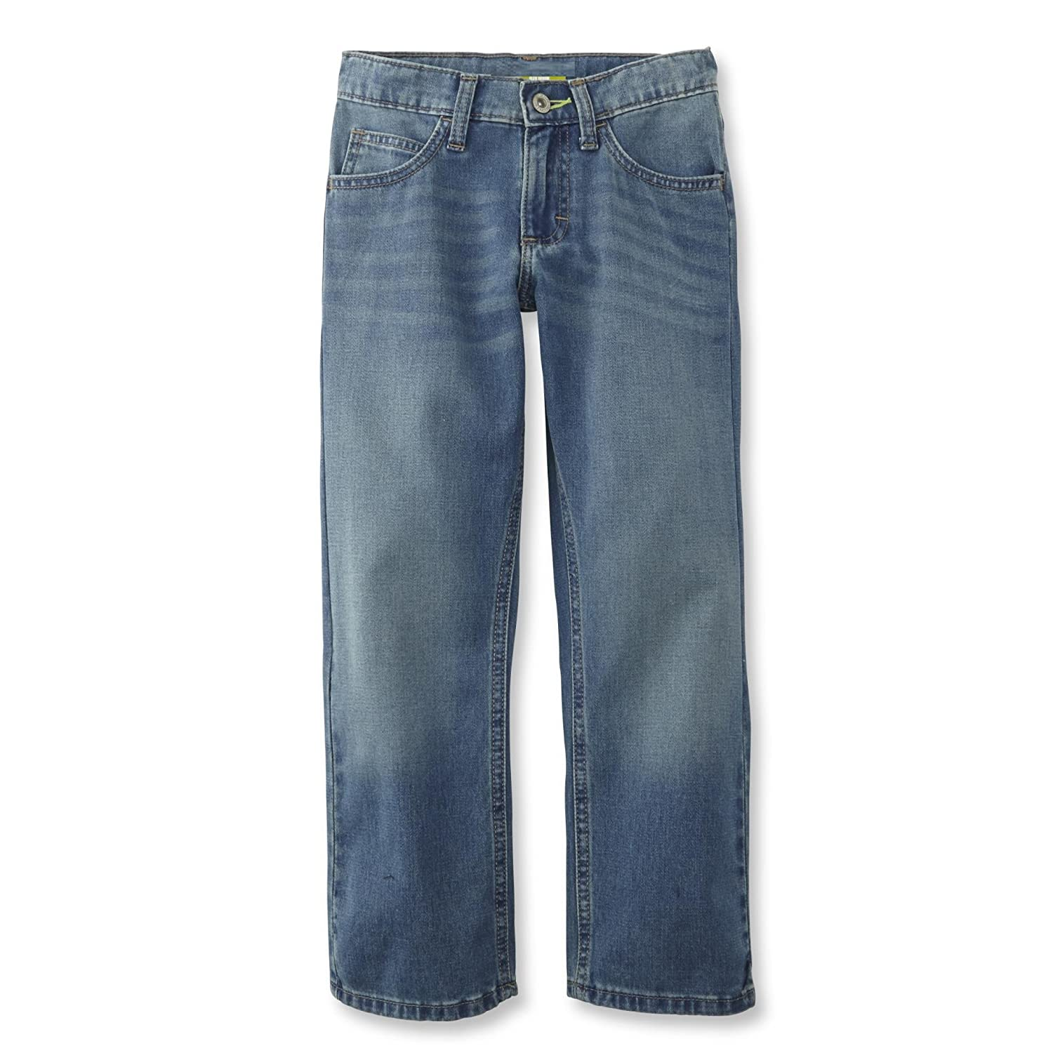 Light Wash, 8 LEE Boys Straight Leg Performance Strecth Jeans