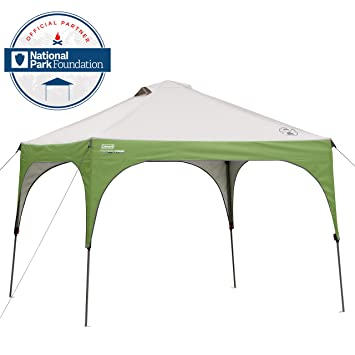 Coleman Instant Beach Canopy 10 x 10 Feet  sc 1 st  Amazon.com : coleman pop up canopy - memphite.com