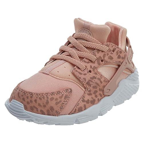 281fa66c0ba5 Nike Huarache Run SE Toddler s Shoes Coral Stardust Rust Pink 859592-603 (9