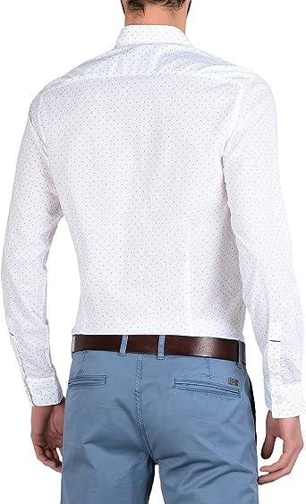 NAPAPIJRI El hombre camisa de manga larga N0YG6VF32 GISBORNE: Amazon.es: Ropa y accesorios