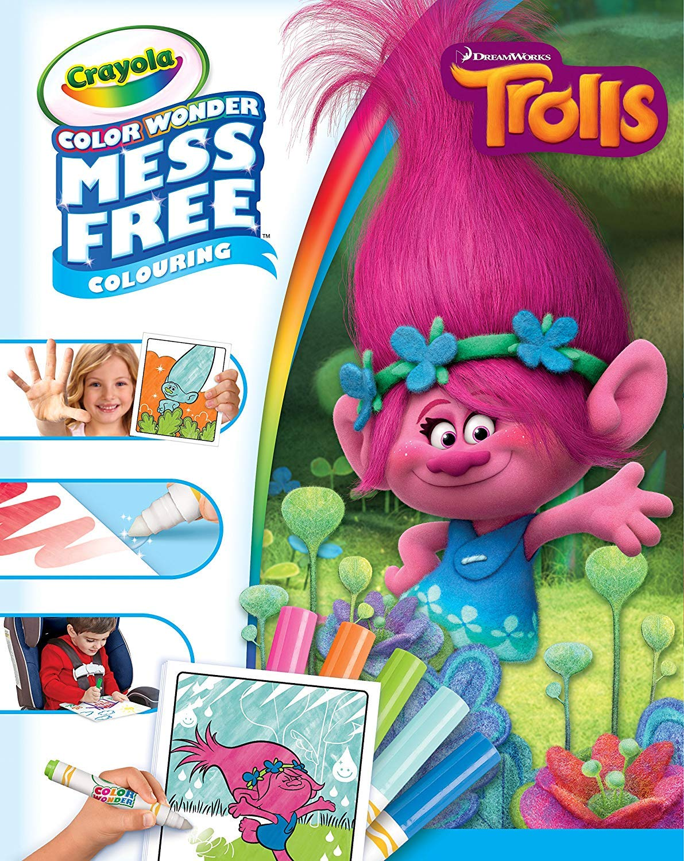 Crayola Trolls Colour Wonder