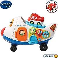VTech- Avión de pasajeros TutTut Bólidos Juguete Interactivo