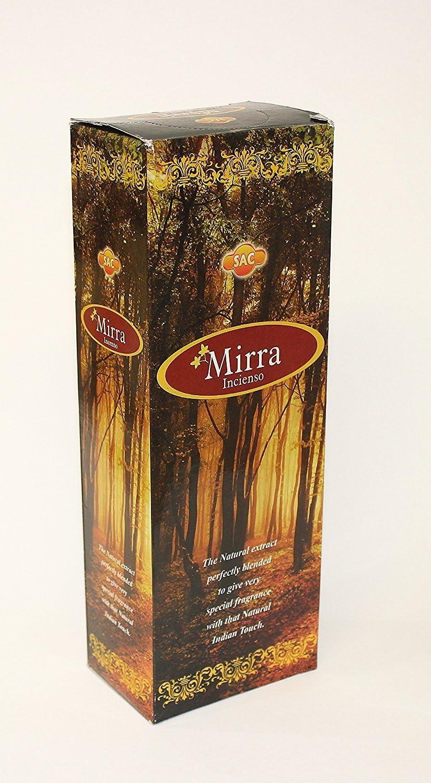 Incienso Sac- Mirra - 6 Cajas de 20 Varillas