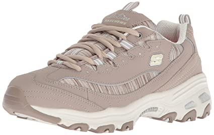 Femme Interlude Synthetic Skechers D Lites Leather Formateurs QtxCrsBhd