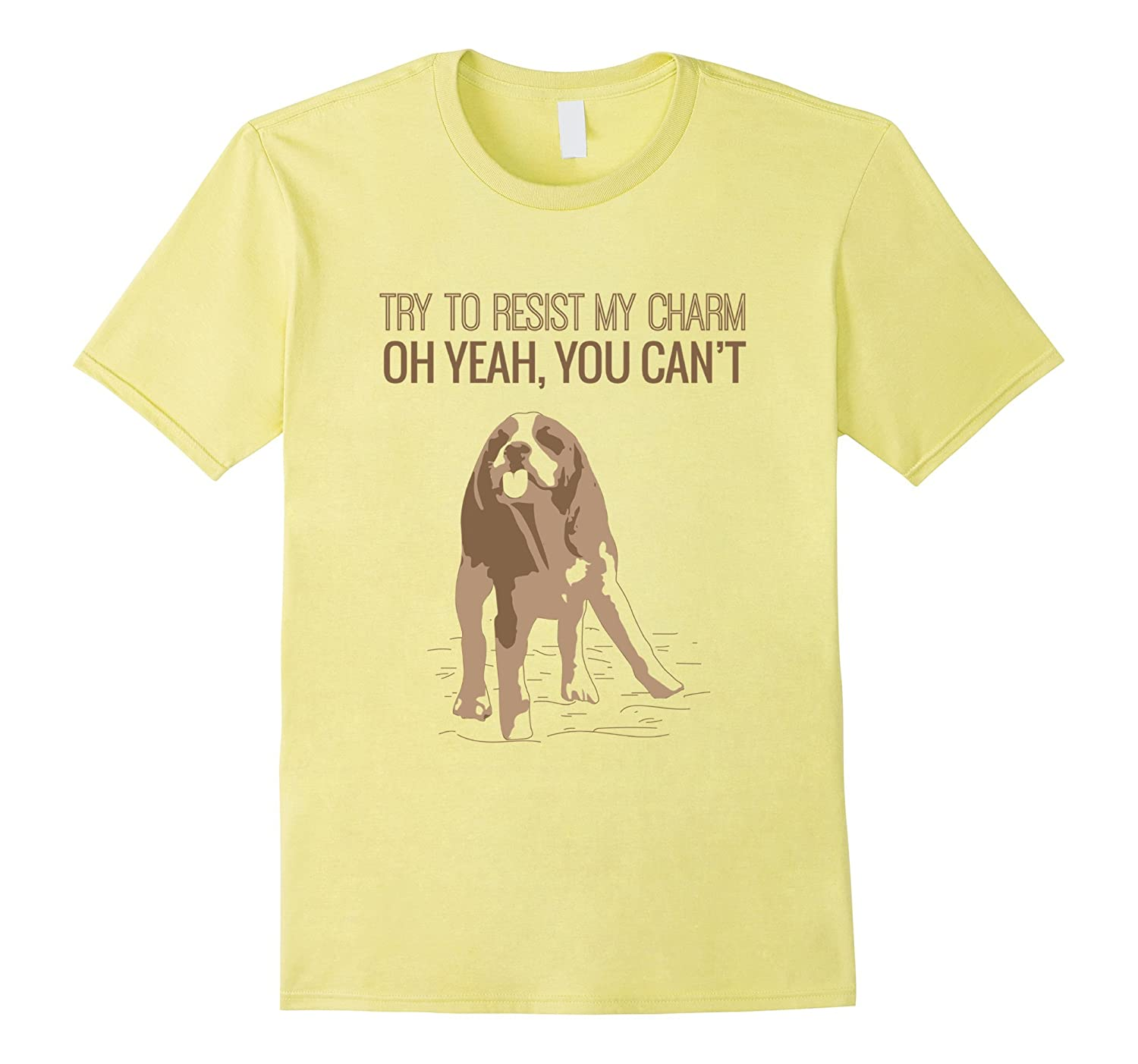 Beagles T Shirt Try to resist my charm-PL