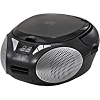 $28 » Magnavox MD6924 Portable Top Loading CD Boombox with AM/FM Stereo Radio in Black |…