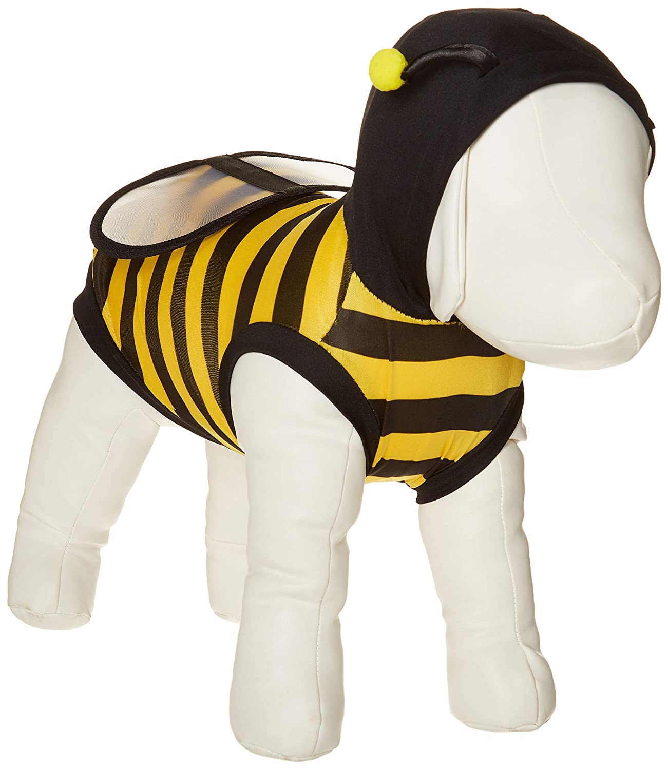 M NACOCO Dog Bee Costume Pet Cute Coat Puppy Clothes Cat Bumblebee Apparel with Hoodies for Small and Medium Dog (M)
