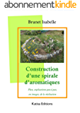Construction d'une spirale d'aromatiques  : Plan, explications pas-à pas, en images, de la réalisation