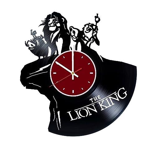 Amazon Walt Disney The Lion King Vinyl Wall Clock Living Room